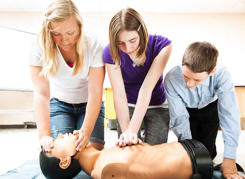 COURTESY PHOTO  - Lake Oswego Parks and Recreation is offering CPR classes for those age 10 and up. It is a lifesaving skill everyone should have. Sign up today.
