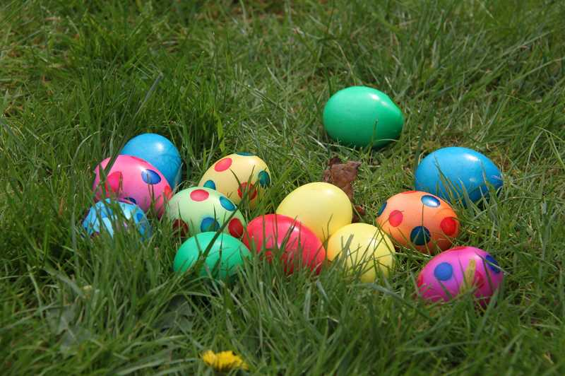 COURTESY PHOTO  - Several Easter egg hunts are planned this weekend. Dont miss out on the fun.