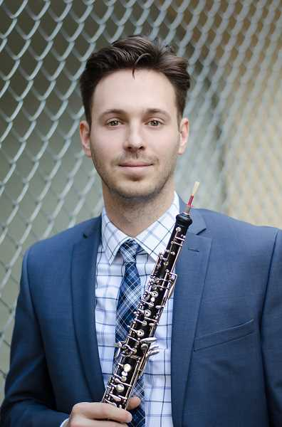 PYP alumnus Max Blair, now Associate Principal Oboe with the Pittsburgh Symphony, will play with PYP during its concert May 5.