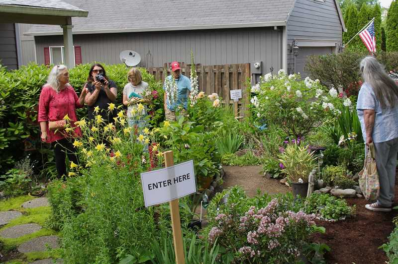 COURTESY PHOTO: FRIENDS OF HISTORIC FOREST GROVE - Gardens from local residents will be open to tour on Sunday, June 2 in Forest Grove, hosted by Friends of Historical Forest Grove.