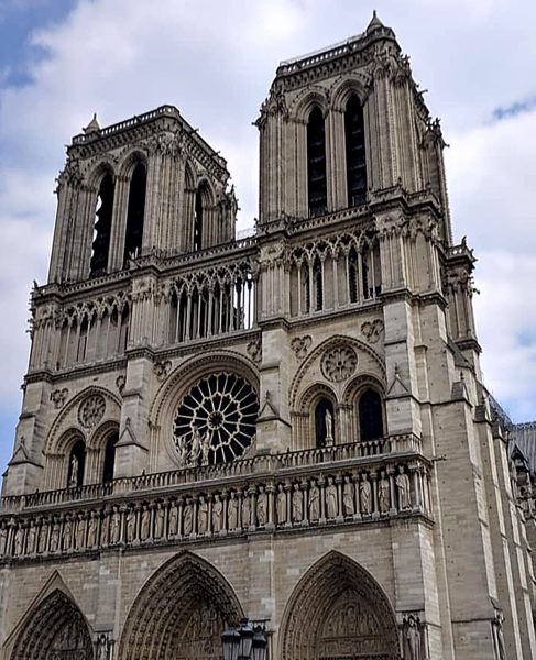 COURTESY PHOTO: DANA HAYNES - Notre Dame was damaged in an April 15 fire.