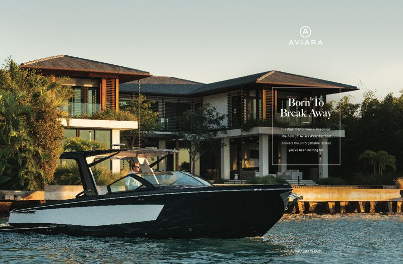 COURTESY: NEMO DESIGN  - Recent Nemo Design work includes designing and launchign the luxury boat brand Avaria.