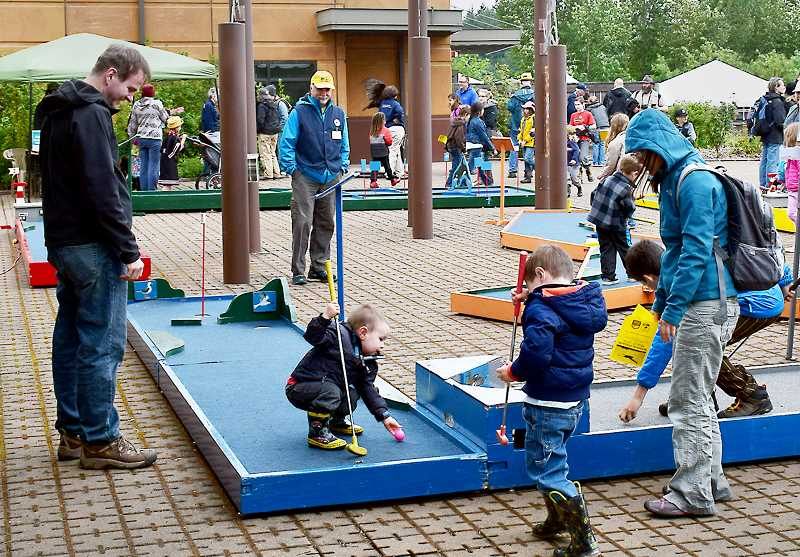 SUBMITTED PHOTO  - There is ample activity for the kids at the Tualatin River National Wildlife Refuge in Sherwood.