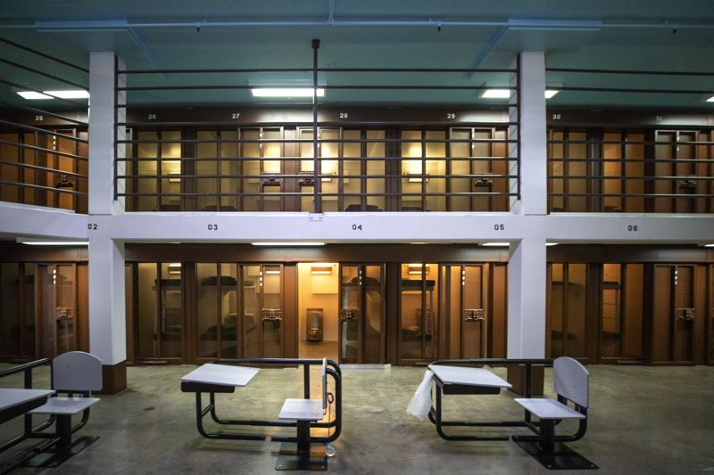 PMG FILE PHOTO - Prison cells at the Oregon State Penitentiary are being occupied more by elderly prisoners. Lawmakers are considering a budget proposal to renovate and operate a special facility for the older inmates.