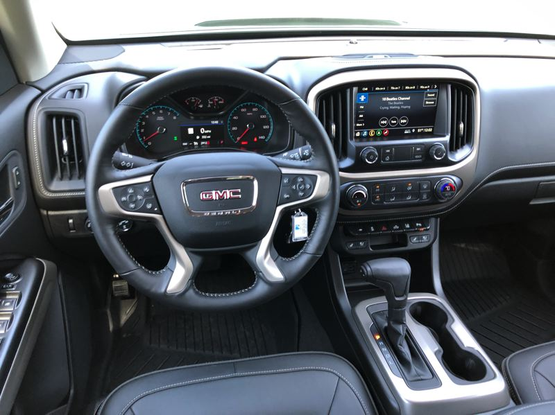 PORTLAND TRIBUNE: JEFF ZURSCHMEIDE - The available Denali trim makes the Canyon one of the most luxurious mid-size trucks on the market.