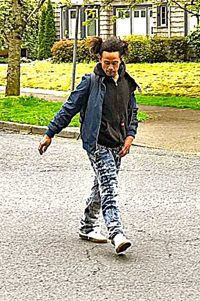 WITNESS PHOTO - Do you recognize this man? A Westmoreland neighbor, who saw the suspect strolling away from the crash and snapped a photo, shared it with the police and THE BEE.