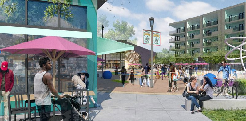 COURTESY: YBA ARCHITECTS - The first of three phases of Rockwood Rising is slated to break ground in May. The development is expected to be completely finished in 2021.