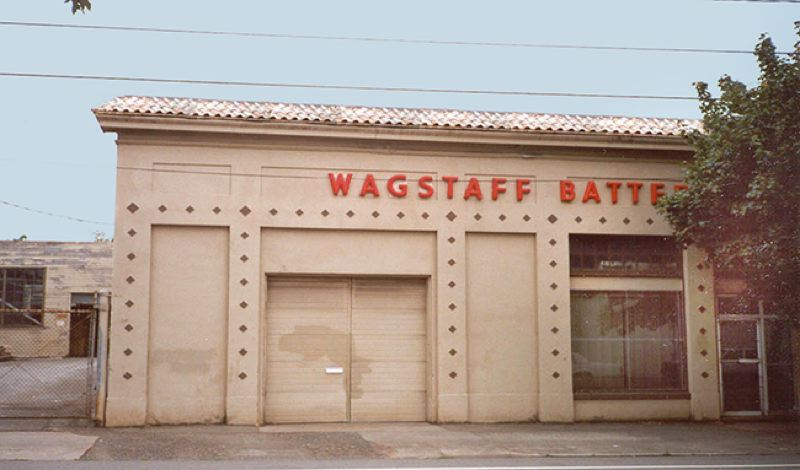 COURTESY BES - The former site of the now defunct Wagstaff Battery Company in North Portland.