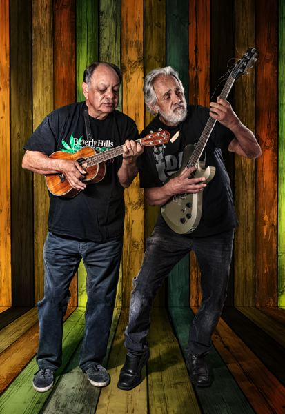 COURTESY PHOTO - Cheech Marin and Tommy Chong have been doing their stoner/hippie routine since 1970, and do three shows at Chinook Winds Casino in Lincoln City this weekend. They disbanded in the 1980s, before resuming their act in the late 2000s.