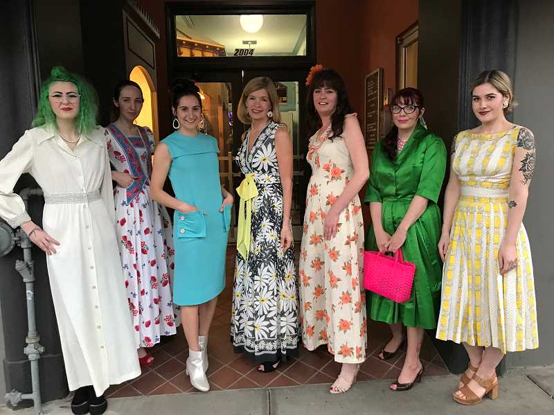 COURTESY PHOTO: HOMEBETTY - Homebetty's focuses on vintage clothing, and held its first fashion show earlier in April to show off what the shop has to offer through its 20 vendors.