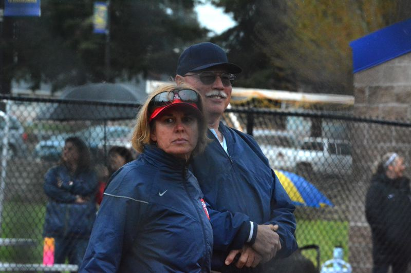 TIMES PHOTO: MATT SINGLEDECKER - Westview head coach Ronda McKenzie won her 500th career game on April 21, becoming the third winningest manager in state history.
