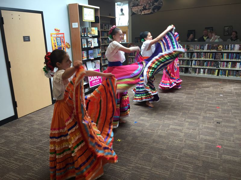 CONTRIBUTED PHOTO - Estampa Mexican, a Mexican Folklorica group taught by Leticia Varela Vargas, will be performing at the Dia de los Ninos celebration at the Sandy Public Library on Saturday, April 27.