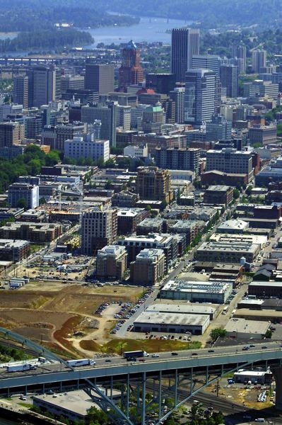 FILE PHOTO - This sweeping vista of the Pearl District is shown here in 2013.