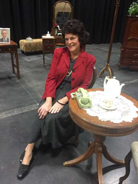 COURTESY PHOTO  - Virginia Kincaid will play Lady Bird Johnson in Tea and Spirits with Lady Bird at Christ Church Episcopal Parish Saturday, April 27.