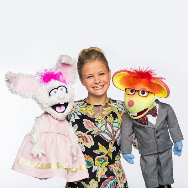 COURTESY: TODD ROSENBURG - 'America's Got Talent' winner Darci Lynne and friends, including Petunia (left) and Oscar, perform April 26 at the Arlene Schnitzer Concert Hall.