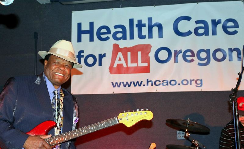 COURTESY PHOTO - The 8th Annual Inner City Blues Festival, April 27, puts the focus on health care, especially for musicians, and stars the likes of Norman Sylvester.