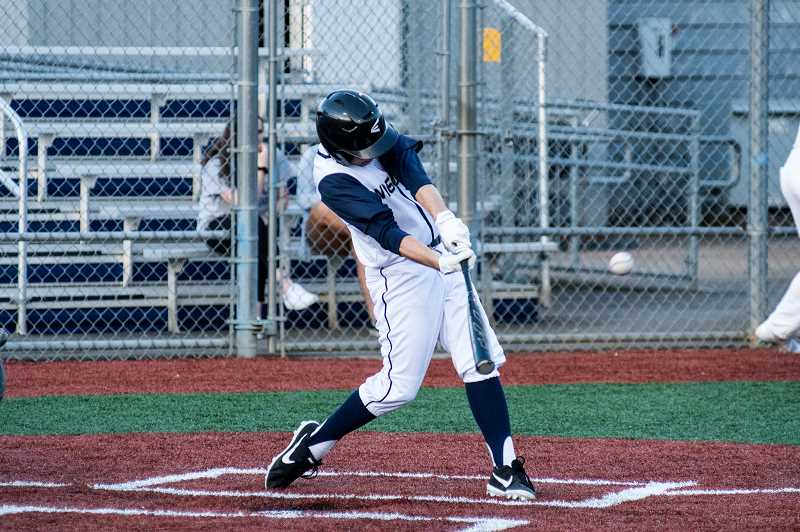 COURTESY PHOTO: GREG ARTMAN - Wilsonville's bats came alive in the first matchup against Hillsboro.