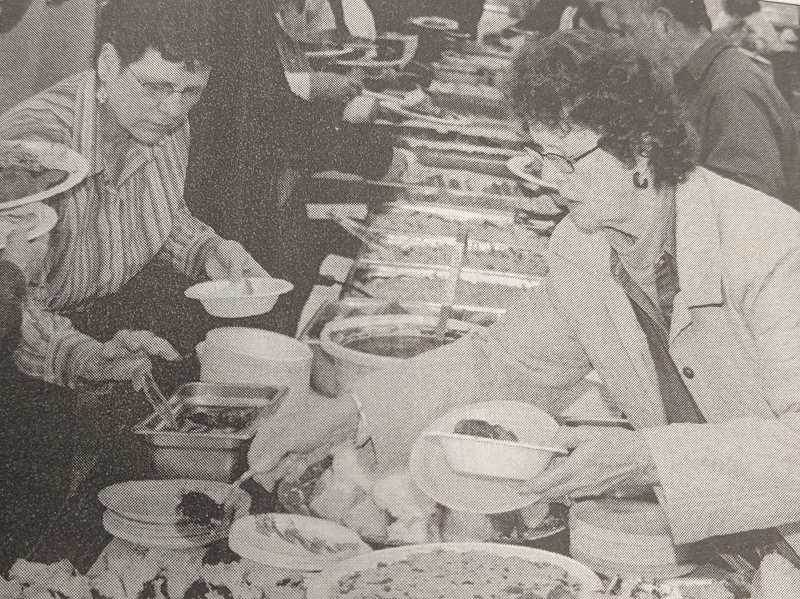 ARCHIVE PHOTO - In 2009, attendees enjoyed a variety of dishes during the Taste of Estacada event, a fundraiser for the community center.