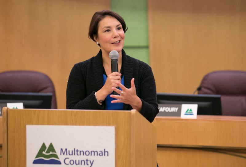 MULTNOMAH COUNTY - Multnomah County Commissioner Jessica Vega Pederson, 44, is reportedly mulling a run for Portland mayor. Because of the county charter, any declaration before January would require she resign her post.
