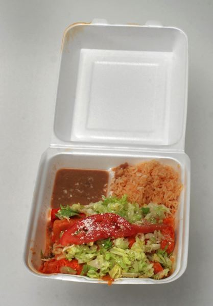 PMG FILE PHOTO - Styrofoam containers used by restaurants could be banned under legislation making its way through the House.