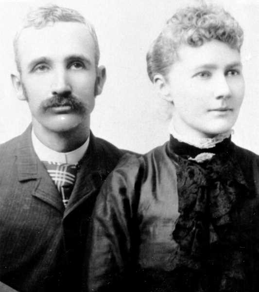 PHOTO COURTESY OF BOWMAN MUSEUM - Cass and Emily Cline moved to the Central Oregon area in 1887.