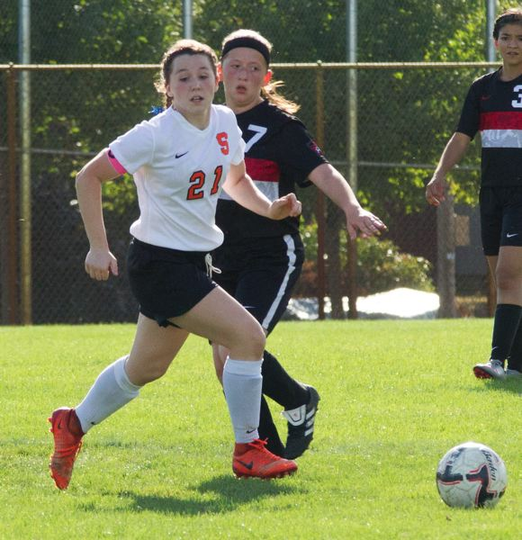 COURTESY: LOREN WOHLGEMUTH - Scappoose High's Shayna Redpath is headed to Presentation College in Aberdeen, South Dakota, to play soccer and study nursing.