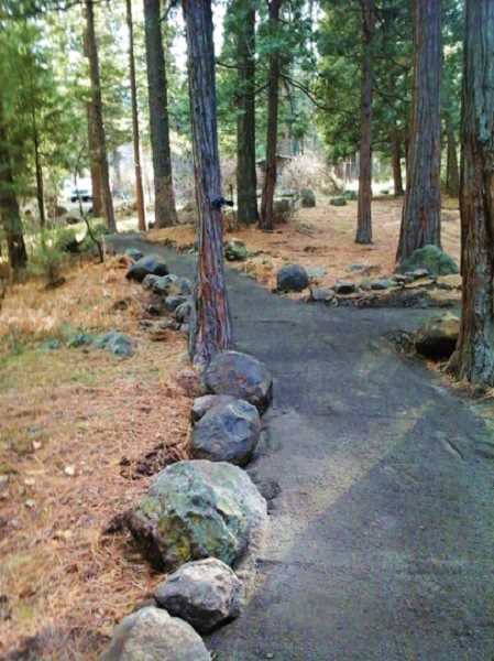 SUBMITTED PHOTO - The Perry South Campground has attractive trails.