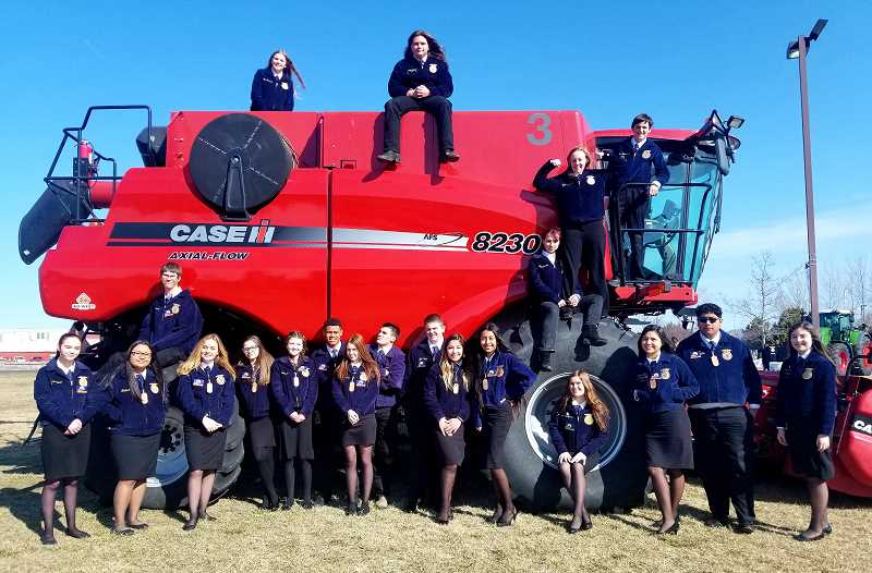 SUBMITTED PHOTO - Madras FFA attended the Oreogn FFA State Convention, March 22-25, at Deschutes Fair & Expo Center.