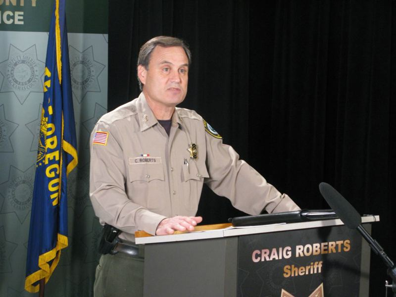 FILE PHOTO - Clackamas County Sheriff Craig Roberts