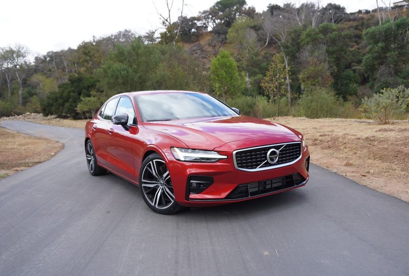 PMG PHOTO: JEFF ZURSCHMEIDE - The 2019 Volvo  S60 R-Design AWD is one of the best-looking, fastest and most sophisticated performance sedans in the world today — bar none.