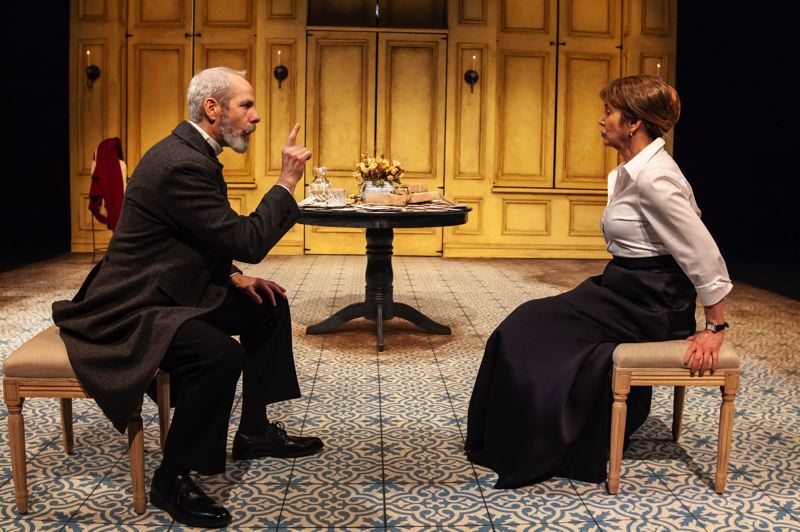 COURTESY: DAVID KINDER - A recent production at Artists Repertory Theatre, 'A Doll's House, Part 2,' will actually be one of the last productions at the Southwest Morrison Street venue before its closed for a remodel.