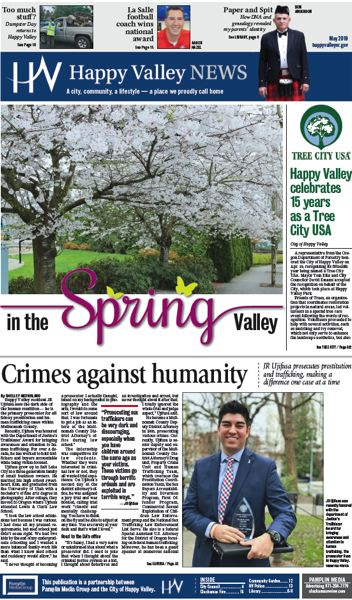 (Image is Clickable Link) Happy Valley News May 2019