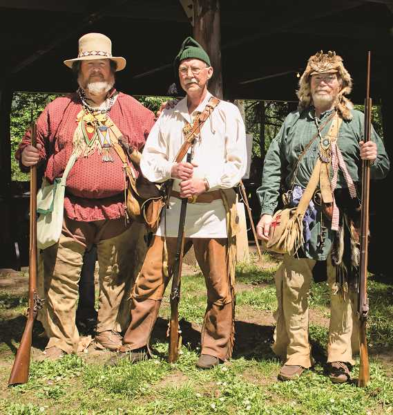 PMG FILE PHOTO - Champoeg State Park's annual Founder's Day celebration will feature living history actors, a fur trapper rifle volley salute and a ceremony to honor the men who participated in the 1843 vote.