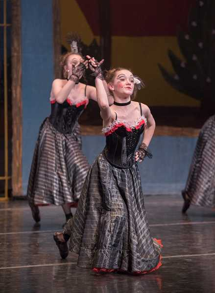 BLAINE TRUITT COVERT - Aurora's Savannah Rodriguez will be busy May 10-11 as she dances many different roles in The Portland Ballet's upcoming program 'Current/Classic.'