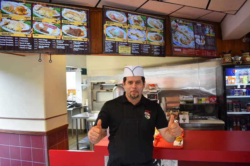 PMG PHOTO: EMILY LINDSTRAND - Venacio Flores, owner of Sol Tapatio, is excited that his new restaurant is open in Estacada.