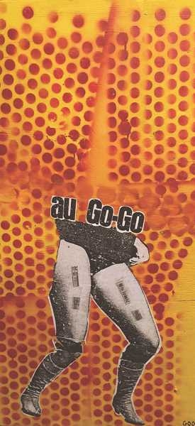 COURTESY PHOTO  - Lake Oswego artist Mark Randall is exhibiting his art at Lakewood Centers Entryway Gallery May 6 through June 10. This piece is titled Au Go-Go.