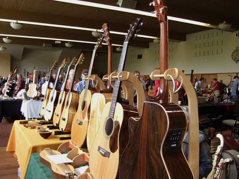 COURTESY PHOTO  - The Northwest Handmade Musical Instrument Exhibit will take place May 4 and 5 on the PCC Sylvania campus. Admission is $5 per person, children under 12 admitted free.