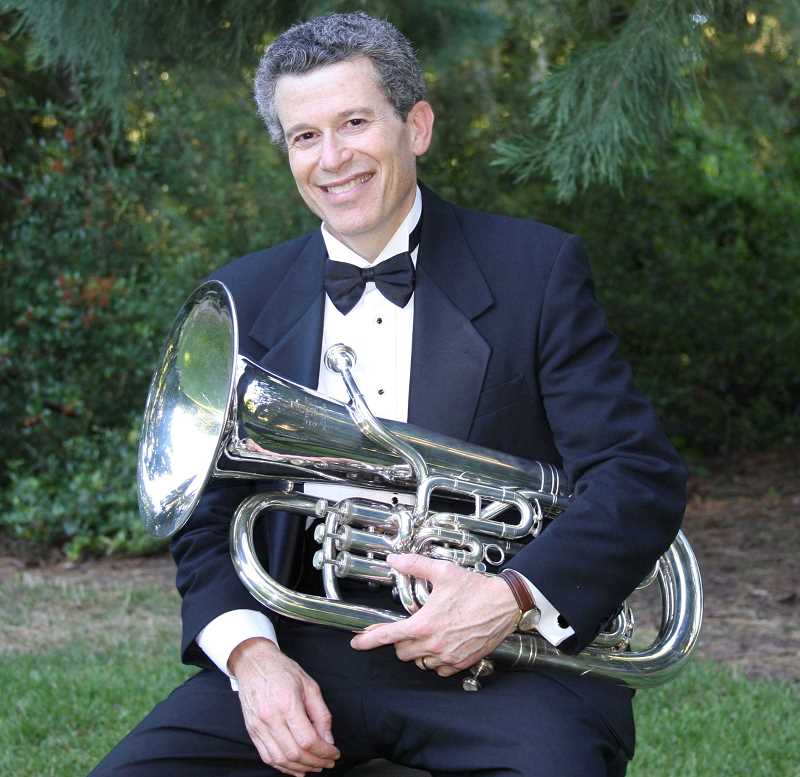 COURTESY PHOTO  - Dan Schlesinger will be one of two featured soloists in the Lake Oswego Millennium Concert Bands concert Sunday. The concert starts at 7:30 p.m. May 5 at Lakeridge High School auditiorium. Admission is free.