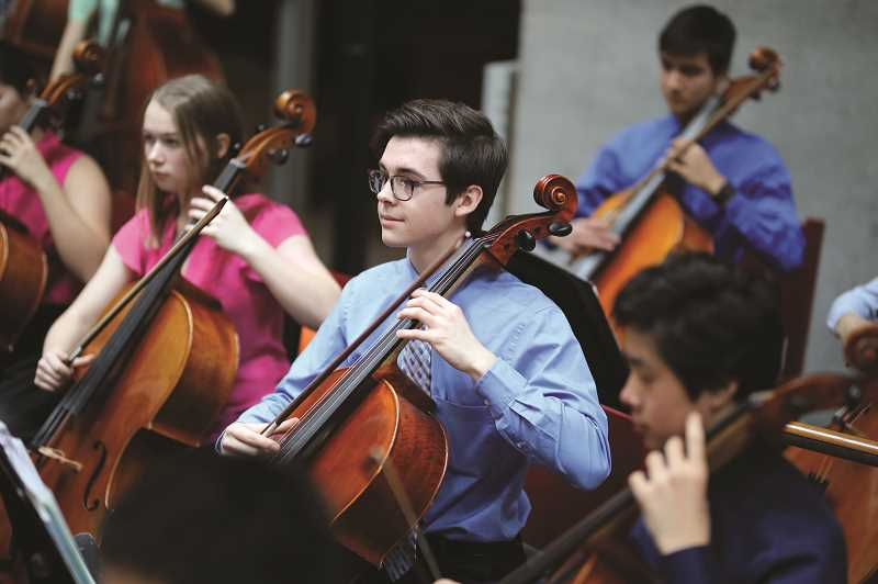 COURTESY PHOTO: THE WALTERS CULTURAL ARTS CENTER - Walters Cultural Arts Center, 527 E. Main St., Hillsboro, presents the Portland Youth Philharmonic at 2 p.m. Saturday, May 18.
