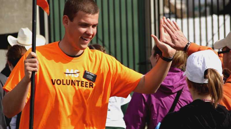 COURTESY PHOTO  - Help support research for a cure for Multiple Sclerosis at the Walk MS event taking place at the Oregon Zoo Amphitheater May 11, starting at 8 a.m.