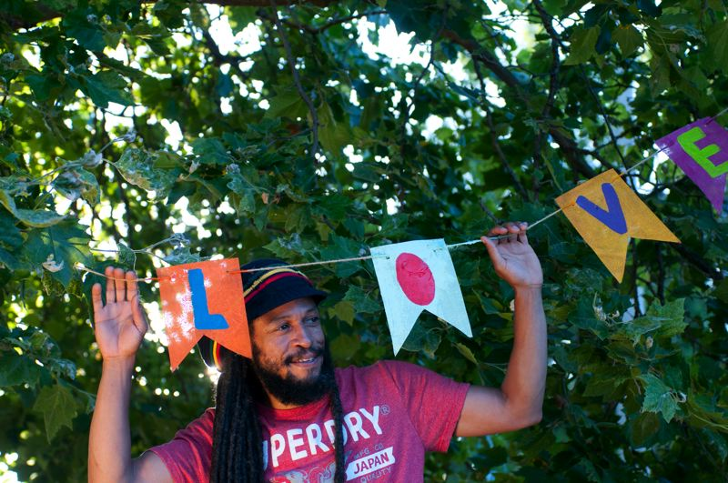 CONTRIBUTED PHOTO - Aaron Nigel Smith is a Portland reggae musician.