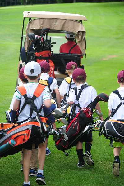 COURTESY PHOTO - One of the most popular programs offered through Lake Oswego Parks and Recreation is the Junior Golf Program. Sign your kids up now.