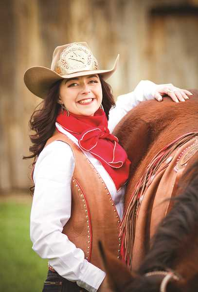 PHOTO COURTESY OF RM IMAGES  - The 2019 Crooked River Roundup Queen Janna Davis will be introduced and crowned at the Crooked River Roundup Banquet and Queen Coronation, scheduled for Saturday, May 11 at Prineville Golf Club, which is a new venue for the event.