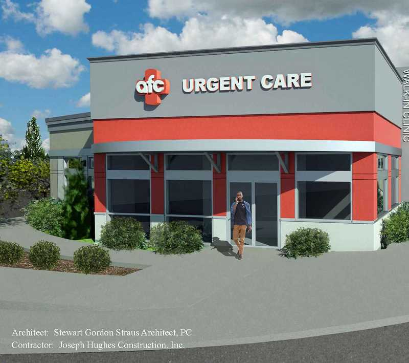 COURTESY PHOTO  - This is a rendering of the Oregon City location of AFC to open summer 2019.