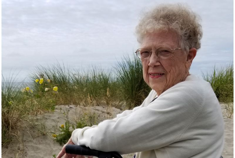 COURTESY PHOTO - Lorraine Snyder passed away peacefully at Adventist Hospital with her family by her side.
