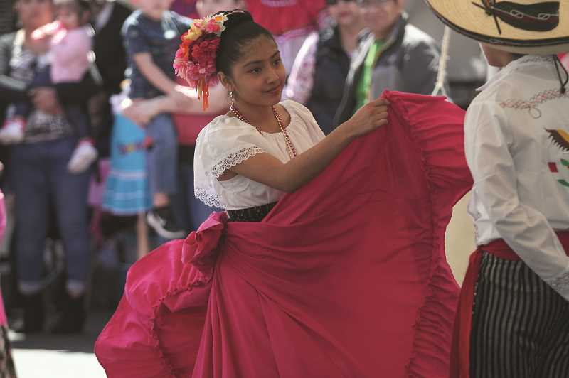 PMG PHOTO: PHIL HAWKINS - Woodburns 14 annual Cinco de Mayo celebration hosted by Chemeketa Community College