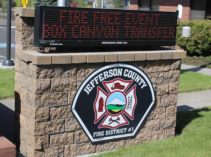 HOLLY M. GILL/MADRAS PIONEER - The Jefferson County Fire District's FireFree event, in partnership with Jefferson County and Madras Sanitary, continues this weekend, May 4-5.