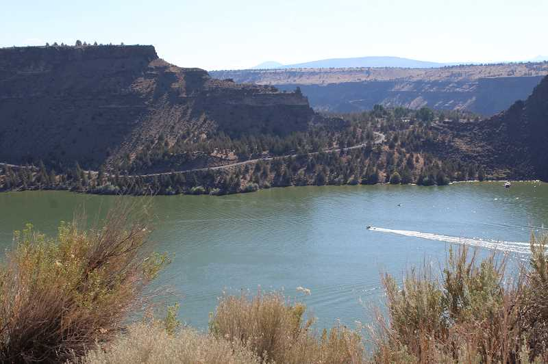 HOLLY M. GILL/MADRAS PIONEER - The Oregon State Marine Board is conducting its annual marine law enforcement officer training at Lake Billy Chinook and the Madras Aquatic Center through May 10.