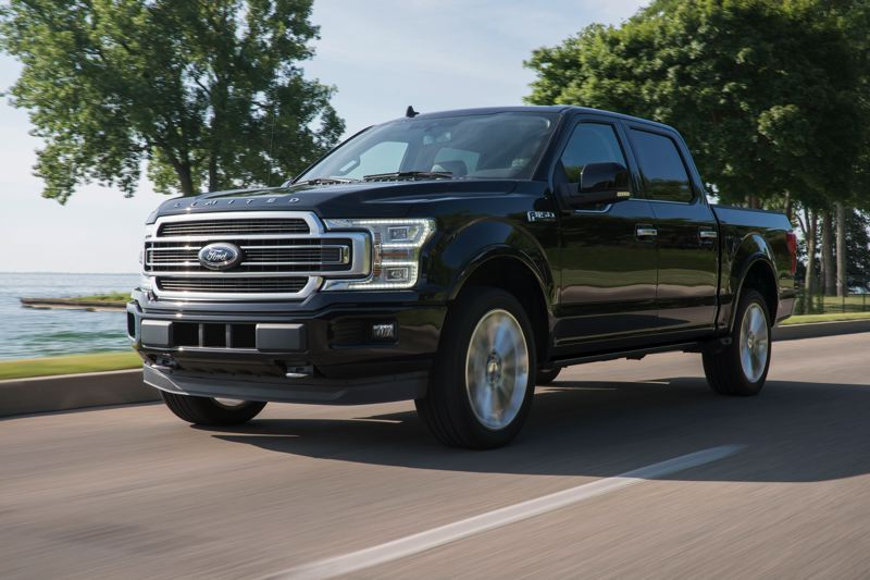 FORD MOTOR COMPANY - The 2019 Ford F-150 Limited is a striking-looking full size pickup with power, luxury and rugged practicality.