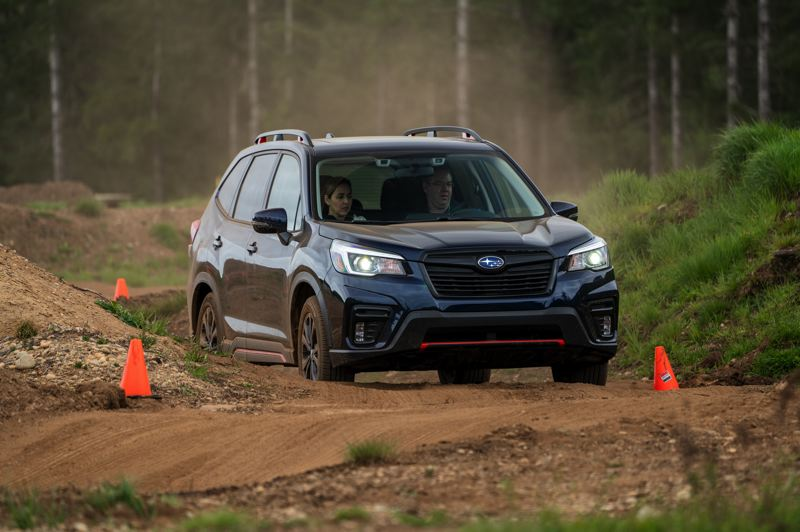 RYAN DOUTHIT, MEDIASPIGOT LLC - The 2019 Subaru Forester Sport won the Subcompact and Compact Family award.